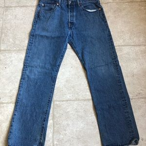 Levi Strauss Faded Blue Jeans 32x30